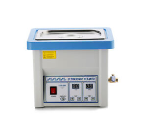 5l Stainless Steel Liter Industry Heated Ultrasonic Cleaner Heater W timer Usa