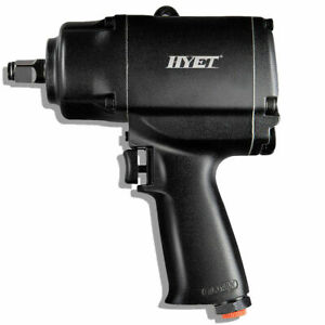 Twin Hammer 1 2 Inch Air Impact Wrench 900 Ft Lbs Heavy Duty Pneumatic Tools New