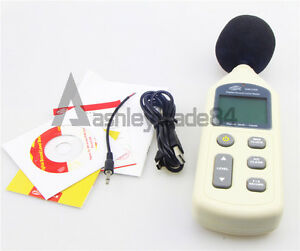 1pc Gm1356 Lcd Digital Sound Level Meter 30db 130db Usb Noise Measurement New