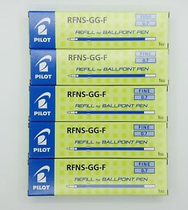 Pilot Dr grip 4 1 Refill rfjs gp f blue Ink 5 Box X 12pcs c