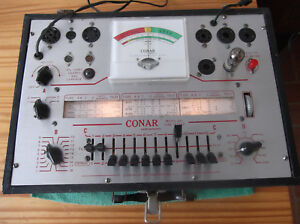 Vintage Conar 221 Tube Tester W manual Book