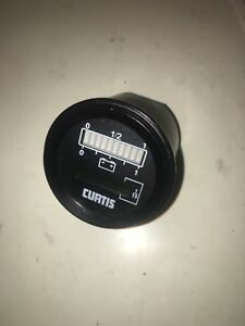 Crown Forklift Parts Curtis Battery hour Meter Display
