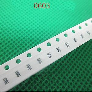 50 Pieces 0603 Smd Fuses Chip Fuse Patch Fuses 1 6a 32v