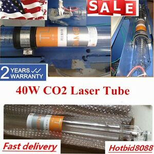 40w Updated Co2 Laser Tube For Laser Engraving Cutting Machine 70cm Local Ship