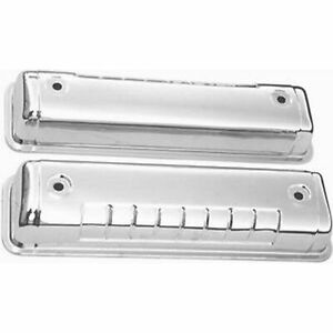 Racing Power Rpc R7541 Engine Valve Covers Chrome Ford 292 312 Valve Cover