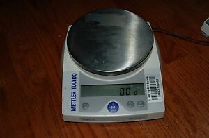 Mettler Toledo Digital Lab Scale Balance Analytical Pl601 s Pl601s 610g 0 1g