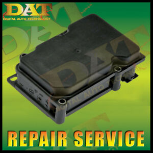 07 08 2009 Toyota Camry Abs Module Repair Service 44510 06060