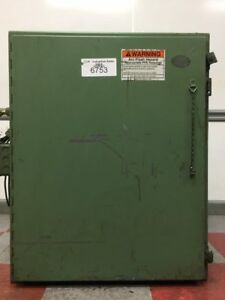 Hoffman Enclosure W Square D 1 5kva Transformer 1 5s1f