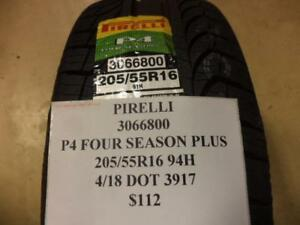 2 Pirelli P4 Four Season Plus 205 55 16 94h Brand New Tires 3066800 Q8