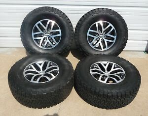 2004 2018 Ford F150 Raptor 17 Factory Oem Alloy Wheels And Tires 10115