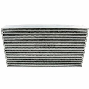 Universal Bar And Plate 22 x11 5 x4 5 Intercooler Core For 240sx S13 S14