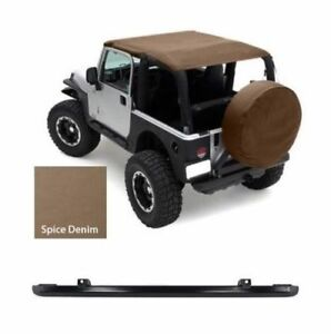 Smittybilt Extended Top Windshield Channel Spice 93617 97 06 For Jeep Wrangler