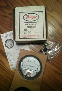 Dwyer Magnehelic Model 2015 Pressure Gage free Shipping