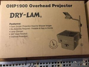 Dry lam Overhead Projector New In Box