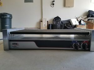 Hot Dog Roller Grill Apw Wyott Hrs 50s Slanted Non stick