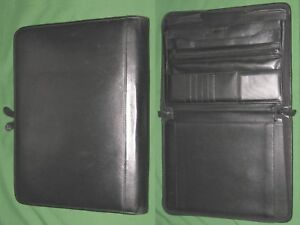 Left Handed Note Pad 8 5x11 Leather Stelco Planner Binder Franklin Covey Monarch