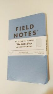 Field Notes Wednesday Blue Brand New Shrinkwrapped Limited Edition Fnw 0