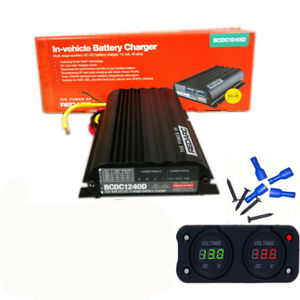 Redarc Bcdc1240d Dual Battery Isolator System Dc To Dc Mppt Solar Agm
