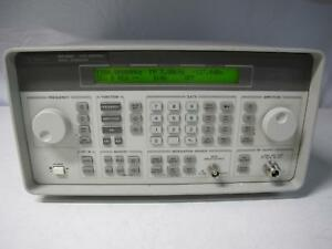 Agilent Hp 8648d Synthesized Signal Generator Opt 1e5 1ea