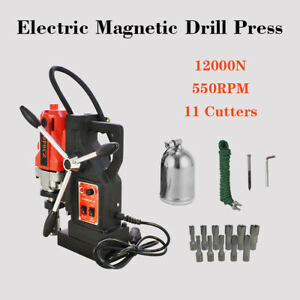 Topmd40 Magnetic Drill Press 11pcs 1 Hss Cutter Set Annular Cutter Kit Mag Drill