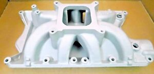 Edelbrock 2981 Victor Jr Ford 351w Intake Single Plane 4150 Flange No Repairs
