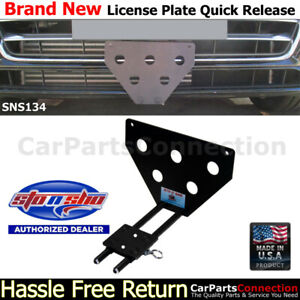 Sto N Sho For 17 18 Audi A4 S line Quick Release License Plate Bracket Sns134