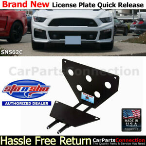 Sto N Sho For 15 17 Mustang Roush Stage 2 3 6 speed License Plate Bracket Sns62c