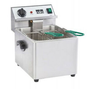 Naks 15 Lb Ul Listed Commercial Countertop Deep Fryer