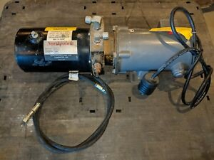 Northpointe Hydraulic Pump 163p1025 With Baldor 1hp Ac Motor 208 230 460v 3ph