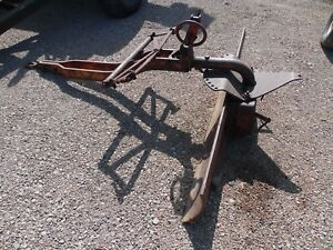 Allis Chalmers Farm Tractor Snap Coupler 6 Back Blade