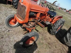 1959 Allis Chalmers D10 Farm Tractor runs And Drives Good