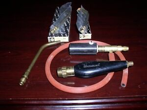 Vintage Uniweld Universal Welding Torch Head Tips