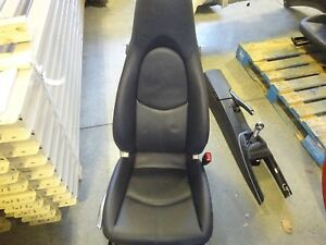 Oem Passenger s Seat 2005 Porsche Boxster Blue Leather Manual W o Sport Seat Htd