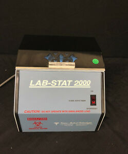 Lab stat 2000 Table Top Centrifuge tested