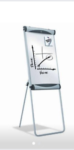 Brand New Quartet Large Dry Erase Whiteboard Flipchart Easel 27 X 41 Inches