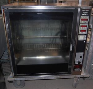 Henny Penny Rotisserie Oven Scr 8 With Spits Electric 3 Phase 480v