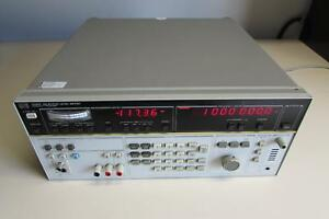 Hp Agilent 3586c Selective Level Meter Calibrated