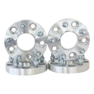 4 1 Inch 5x5 Jeep Hubcentric Wheel Spacers Jk Wrangler 07 Grand Cherokee