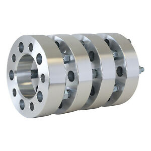 4 Qty 1 5 Inch 5x4 75 Wheel Spacers Adapters 12x1 5 5x4 75