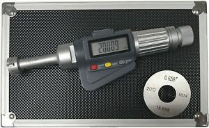 3 point Internal Micrometer Hole Bore Gauge Gage 0 65 0 8 0 00005 0 001mm