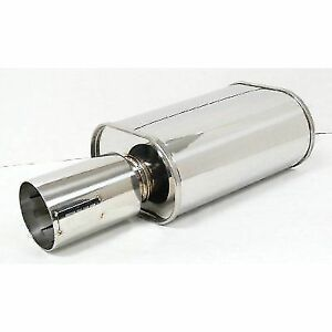 Obx Stainless Steel Forza Tuning Harpoon Series Muffler 3 Inlet Hr09 30