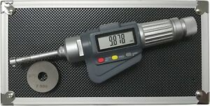 3 point Internal Micrometer Hole Bore Gauge Gage 0 4 0 5 0 00005 0 001mm