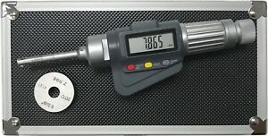 3 point Internal Micrometer Hole Bore Gauge Gage 0 236 0 315 0 00005 001mm