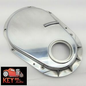 Polished Aluminum Big Block Chevy Timing Chain Cover Kit 454 Mark Vi Gen 6
