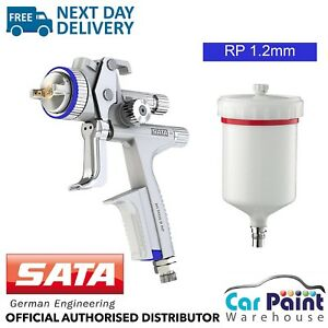Satajet 5000 B Rp Non Digital 1 2mm Clear Coat Lacquer Spray Gun Sata