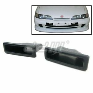 Frp Front Cooling Bumper Air Duct Vent For Acura Integra Dc2 Type R 97 2001
