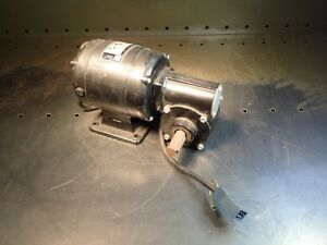 Bodine Nsh 34rh Series 400 Control Gear motor 115vdc 1 15hp 30 1 57rpm Output