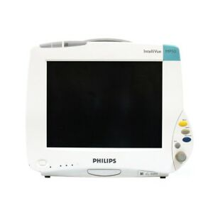 Philips Intellivue Mp50 Patient Monitor With M3001a Module Biomed Certified