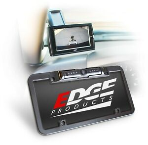Edge Back Up Camera License Plate Mount For Cs2 Cts2