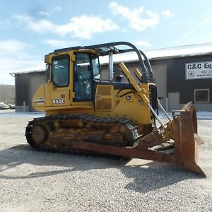 2005 Dozer John Deere 850c Lt Series 2 Very Nice Shape Good Bottom
